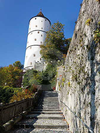 Town Wall and Weisser Turm (White Tower), Biberach