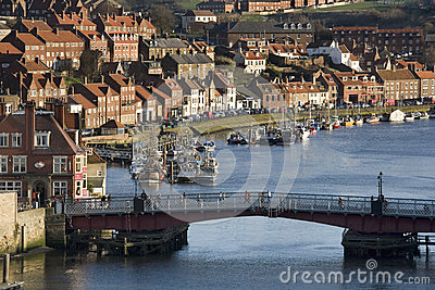 Town of Whitby - Yorkshire Coast - England