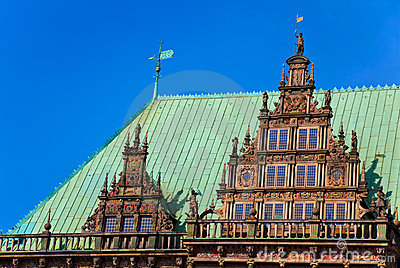 Townhall in Bremen, Germany.