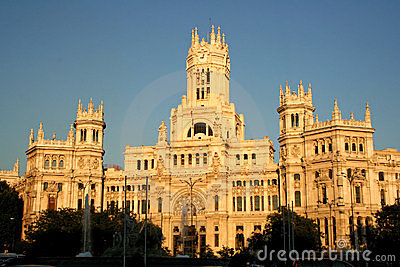 Townhall, Madrid, Spain