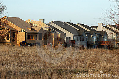 Townhome Under Construction Royalty Free Stock Images Image 802569