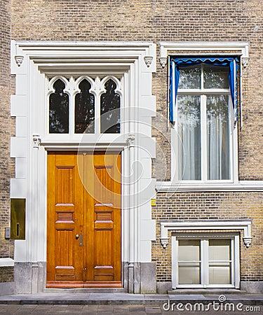 Townhouse Entrance Front Door