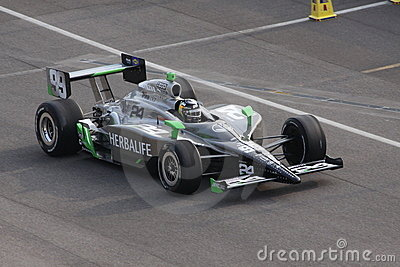 Townsend Bell 99 Indianapolis 500 Pole Day 2011 Editorial Photo