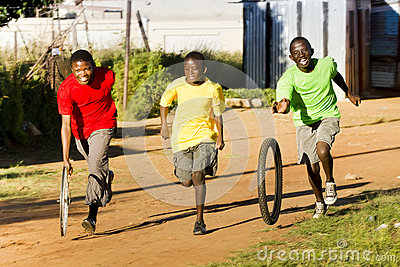 Township Sports - Tyre Race