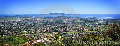 Townsville City Aerial Mt Stuart