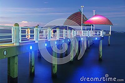 Townsville-Strang-Anlegestelle