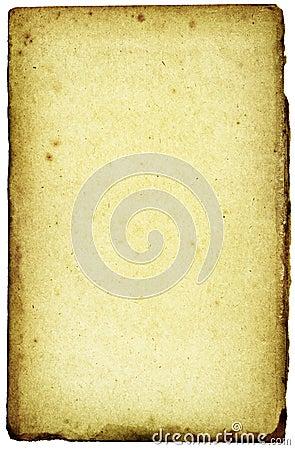 Toxic-grunge paper