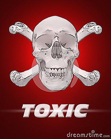 Toxic Skull & Bones