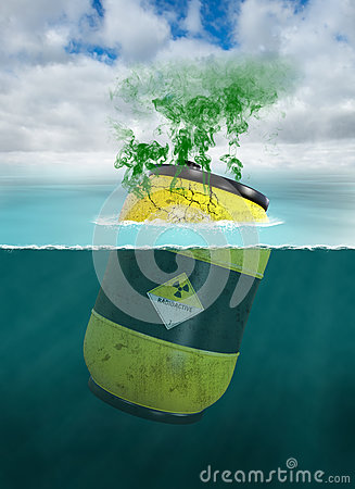Free Toxic Waste, Chemical, Water Pollution Royalty Free Stock Photography - 94177177