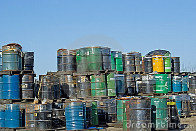 Toxic Waste  Dump Editorial Photography