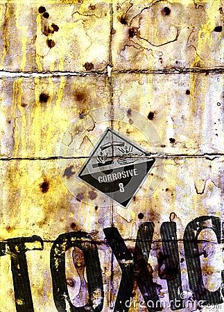 Toxic waste grunge texture