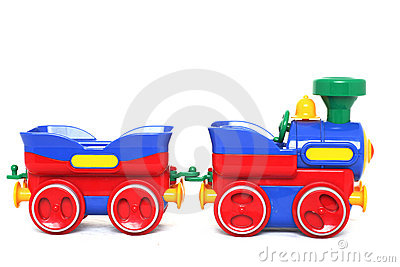 Toy поезд