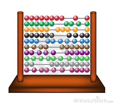 Toy abacus