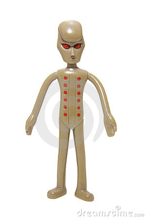 Free Toy Alien Figure Stock Photography - 8501642
