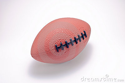 Toy american football ball