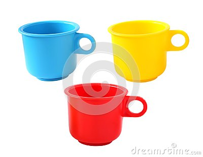 Toy baby cups