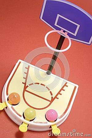 Free Toy Basketball Game Royalty Free Stock Image - 20161086