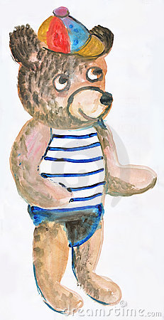 Toy bear 1