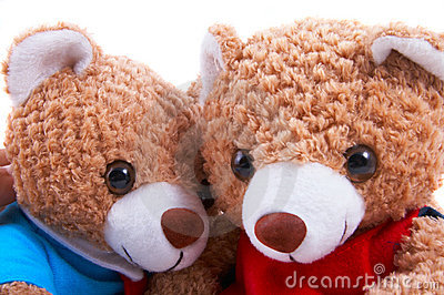 Toy bears together