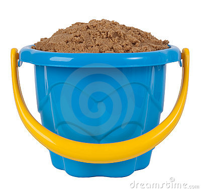 Free Toy Bucket With Sand Stock Photo - 14883650