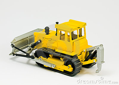 Toy bulldozer
