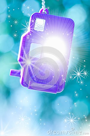 Free Toy Camera With Sparkles And Bokeh Background Royalty Free Stock Photography - 113345687