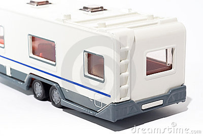 Toy camper trailer