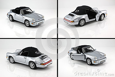 Toy car porsche 911 Editorial Stock Photo