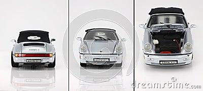 Toy car porsche 911 Editorial Stock Image
