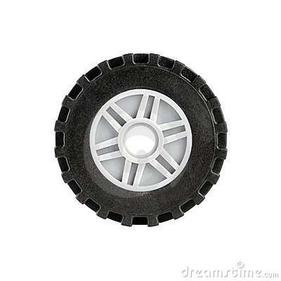 Toy car wheel