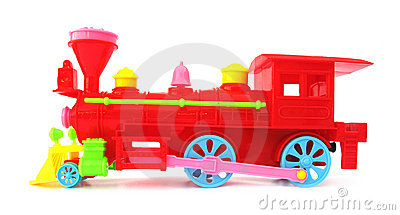 Toy christmas locomotive train
