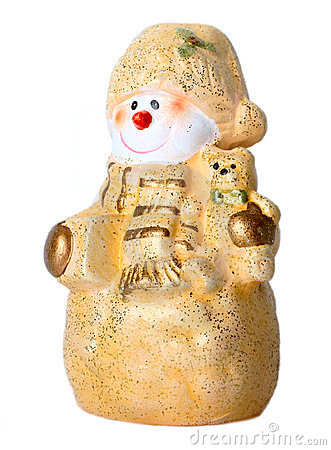Toy Christmas snowman