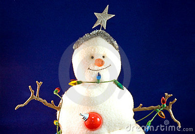 Toy Christmas snowman