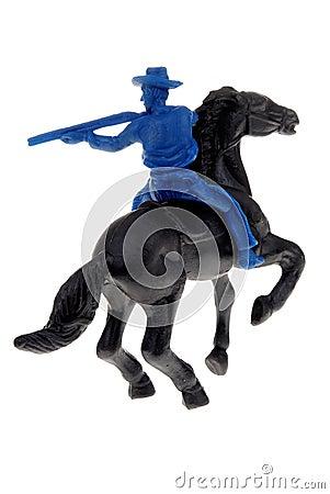 Free Toy Cowboy On Horse Royalty Free Stock Image - 4914966