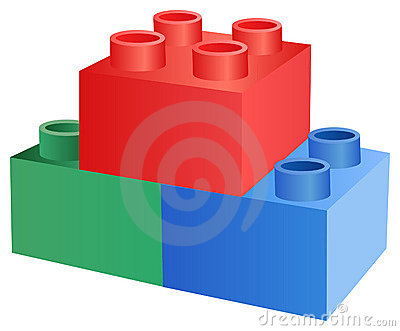 Toy cube vector