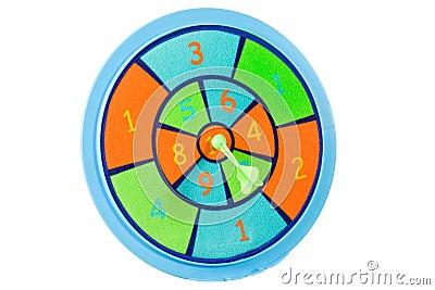 Toy dart board