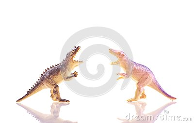 Toy Dinosaur T-Rex s Fighting