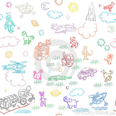 Free Toy Doodles Stock Images - 22080104