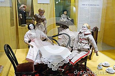 Toy exhibition in Vapriikki Editorial Stock Photo