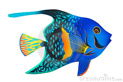 Toy exotic fish