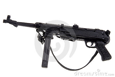 Toy german machine gun