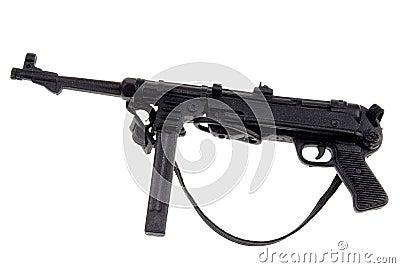 Toy german machine gun