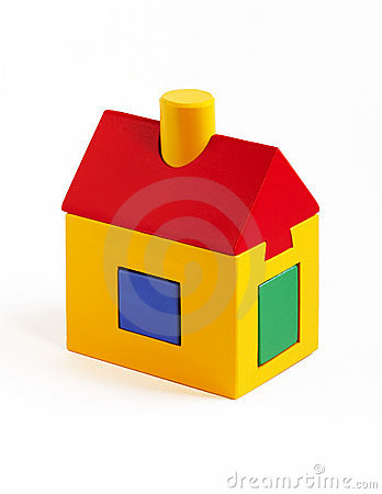 Free Toy House Royalty Free Stock Photo - 388685