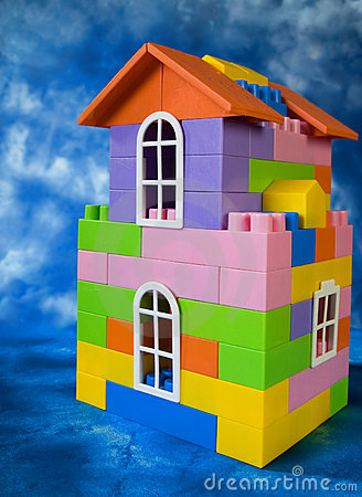 Toy house model
