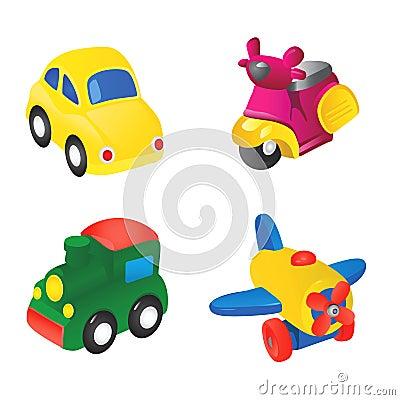 Free Toy Illustration 1 Stock Photos - 4970623