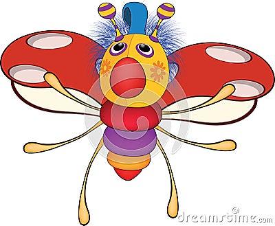 Ladybird from a fairy tale. Toy. Cartoon