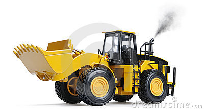Toy loader excavator