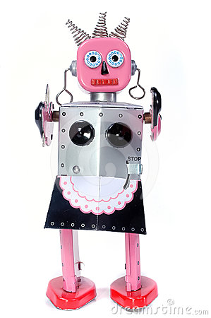 Toy maid robot