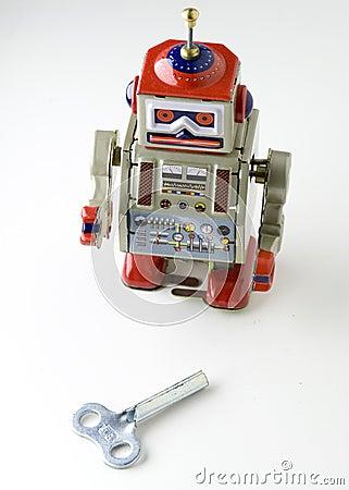 Free Toy Metal Robot Royalty Free Stock Image - 645216