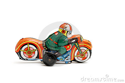 Toy motorcycle
